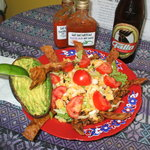 Taco Salad with Chicken, Beef, or Tofu