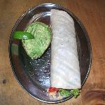 Burrito with Chicken, Beef or Tofu