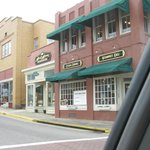 Artisan Grille is located on the corner at Main Street.