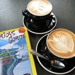 coffee at Doppio