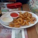 crunchy calimari