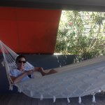 Hammock on our deck