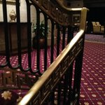 The wonderful old railings in the lobby..