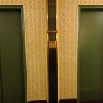 The old mail chute (15th floor) - and I did use it. Too fun!