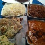 Tikka Masala, Vindaloo, and naan