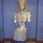 Decoraçao  com estatua Thai