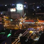 Night view over Ben Thanh Markets