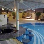 Sheraton Deira - Rooftop Pool area