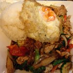 Pad Kra Pow - Chicken with Thai Basil Stir Fry