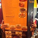 """The """"Giant"""" menu :-)"""