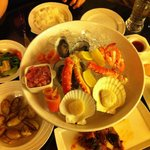 Seafood Platter at the Seafood Market restaurant in Renaissance