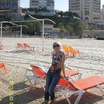 Пляж в декабре