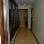 The corridor in our room.