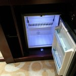 Empty mini bar