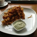 chicken onion bhaji