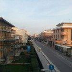 Road away from Rimini