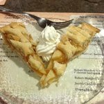 apple pie from the restaurant hotel. really good!