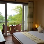 Superior double room with rice paddie view