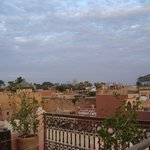 View from roof terrace - it is possible to have breakfast up here.