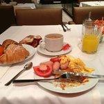 really good breakfast