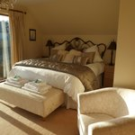 The cairngorm Room with panoramic views of cairngorms