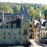 Château de Prye, façade ouest