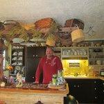 Hank in the kitchen