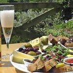 Wonderful Yearlstone Fizz & Deli Shack Cafe platters