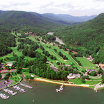 Aerial view of Bald Mountain Golf Course
