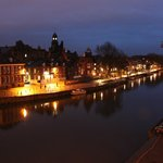 15 Merchant Exchange, Riverside Apartment - Night view from apartment