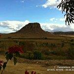 """Sicht vom Bungalow aus (Hotel """"Isalo Ranch"""")"""