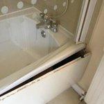 Don't slam the bathroom door!