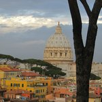 St. Peter's Basilica from the convent