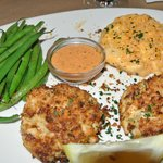 Maryland Crab Cake dinner