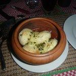 garlic dough balls!