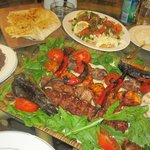 60 Lira for a 2 person sharing platter , about £20