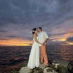 Our wedding night sunset