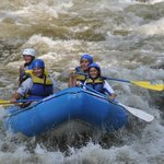Rafting on the Pigeon River.