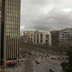 Vistas de la Castellana desde la habitación, 6 planta