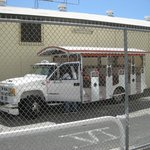 En typisk taxa på St. Thomas