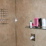 Toiletries shelf