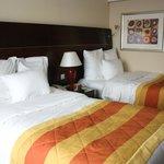 2 gemütliche Betten