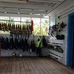 Snorkel gear/Activity shop