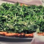 Arugula Pizza #PiBrickOven