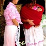 Purepecha Women and Baby