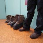 Big Boots at Honningsvag