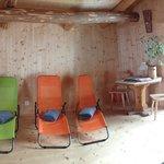 Liegeraum Sauna