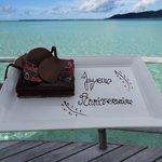 Surprise d'anniversaire de mariage...miamiam