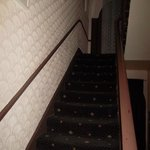 Le scale dell'entrata