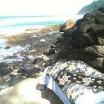 Beautiful beach massage!